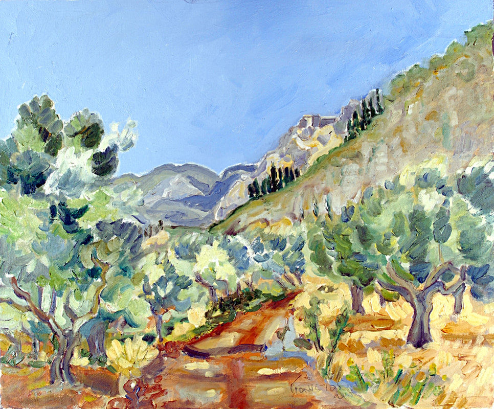 Olive Grove by Nikos Giannetos